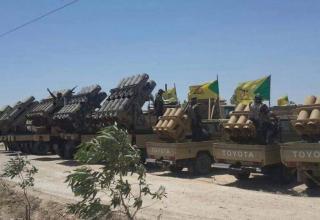 Варианты для IRAM, демонстрируемые иракскими силами около Fallujah. twitter.com/bm21_grad?cn=ZmxleGlibGVfcmVjc18y&refsrc=email