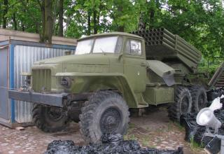 Боевая машина БМ-21. ©С.В. Гуров (Россия, г.Тула)