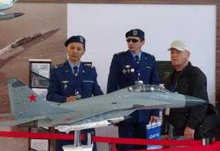 Стенд РСК «МиГ» (Россия) на выставке KADEX-2016 (Казахстан)