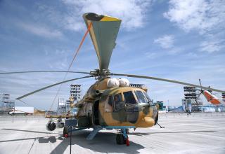 Вертолет Ми-17Ш ВВС Казахстана.© Ладислав Карпов/ТАСС. http://tass.ru/armiya-i-opk/3342252