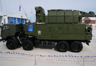 Автономный боевой модуль 9А331МК1 из состава ЗРК