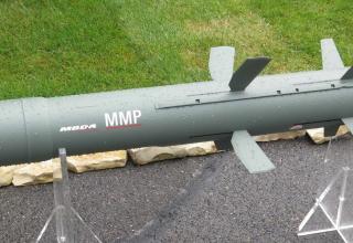 Макет ракеты для комплекса MMP. Фотография: ©Томас Шульц (Польша).