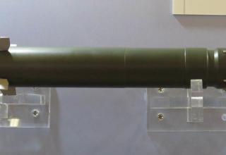 Макет миниатюрного управляемого снаряда Pike (США).Фотография: ©Томас Шульц (Польша).