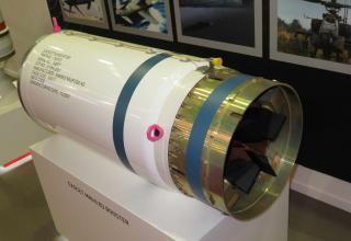 Макет ускорителя для Exocet MM40 B3 от специалистов Nammo. Фотография: ©Томас Шульц (Польша).