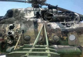 Ми-17 ВВС Сирии после ПЗРКfacebook.com/photo.php?fbid=524508231007599&set=a.142939992497760.12138.100003452800656&type=3&theater