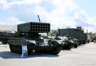 Боевая машина БМ-1 ТОС-1А. http://bmpd.livejournal.com/2107112.html