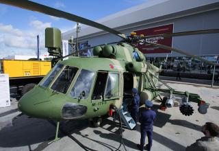 Вертолет Ми-17В-5. fullpicture.ru/aziya/voennyj-forum-armiya-2016-v-fotografiyah.html