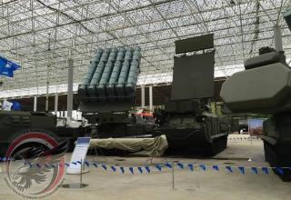 Транспортно-пусковая установка 9А316М с 12 ЗУР 9М317М в ТПК. http://oko-planet.su