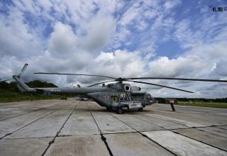 Вертолёт Ми-8АМТШ военно-транспортной авиации ВВО. newsvl.ru/vlad/2016/09/07/151310/#gallery51