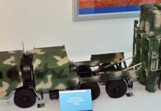 Макет ПУ ЗРК HQ-16(Китай).  http://www.janes.com/article/63784/long-march-fast-aad16d2