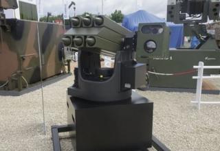 Демонстрационный образец RCLM. R Hughes. http://www.janes.com/article/61989/rheinmetall-unveils-new-lightweight-missile-launcher