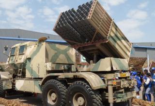 БМ серии РСЗО Valkiri Mk II (ЮАР). http://www.htxt.co.za/2016/09/16/jets-weapons-aad/#jp-carousel-108363