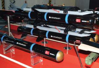 Стенд Roketsan (Турция). http://www.janes.com/article/63856/turkish-precision-aad16d3