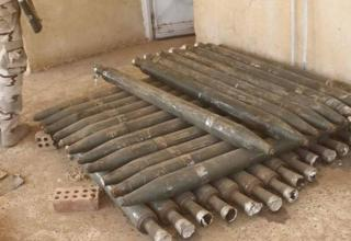 Ракеты ИГИЛ, захваченные около Масула. http://en.farsnews.com/imgrep.aspx?nn=13950701000441