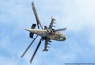 Ударный вертолёт КА-52. Фото: Кисельников Андрей. http://sdelanounas.ru/blogs/83940/