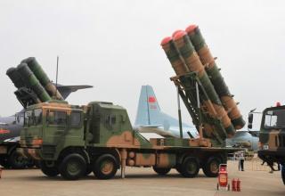 Образец китайского ЗРК HQ-22. http://defence-blog.com