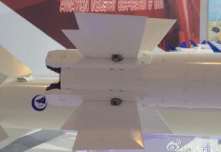 Макет новейшей авиационной ракеты ближнего боя PL-10E. http://military-informant.com