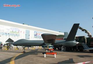 Ударный беспилотный самолёт CH-5 (Китай). Фото: China.org.cn. http://www.china.org.cn/business/2016-11/03/content_39627446.htm.