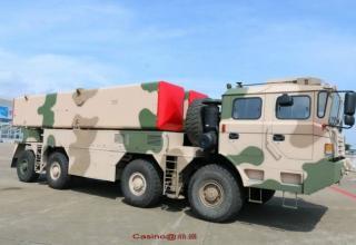 Образец ПУ B611 для УР М-20. http://www.popsci.com/chinas-new-missiles-zhuhai