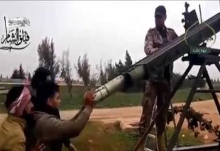 Самодельная ПУ для РС калибра 122 мм. http://parstoday.com/ru/news/middle_east-i44332