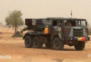 БМ Type 81 чадской армии в Нигерии (Deyoua). Опубл. 13.05.2016 г. https://twitter.com/tom_antonov/status/731112180876226560