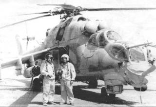 Бомбы ОФАБ-100-120 и блоки Б8В20. Кундуз, октябрь 1983 г. topwar.ru/21468-vertushki-afganistan-mi-24.html