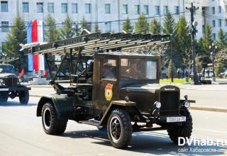 Хабаровск. Установки серий М-13 (БМ-13). http://www.dvnovosti.ru/khab/2017/05/09/65944/#gallery40