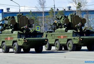 Южно-Сахалинск. ПУ ЗРК