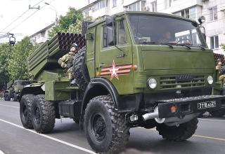 Симферополь. БМ 2Б26 РСЗО