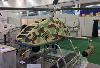 Демонстрационный образец ударного беспилотного вертолета(Беларусь). © Алексей Паньшин/ ТАСС. http://tass.ru/armiya-i-opk/4267958