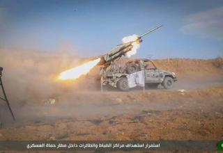 2016 год. http://syria.liveuamap.com/en/2016/3-september-north-hama-ahrar-alsham-shelled-for-the-2nd-day