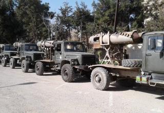 twitter.com/bm27_uragan ...  4th Armoured Division IRAMs in Damascus. Опубл. 01.03.2017 г.