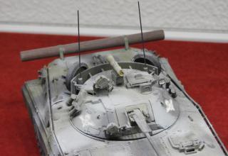 Модель боевой машины пехоты БМП-2Д с ПТРК