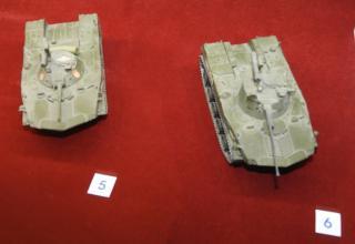 Модели боевой машины десанта БМД-1 с ПТРК. Фото: ©С.В. Гуров (г.Тула).