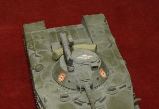 Модель боевой машины десанта БМД-1 с ПТРК. Фото: ©С.В. Гуров (г.Тула).