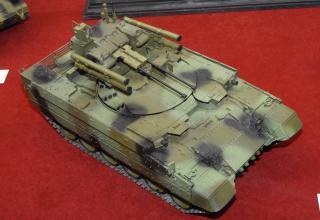 Модель боевой машины поддержки танков (БМПТ)