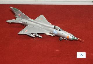 Модель истребителя МиГ-23. Фото: ©С.В. Гуров (г.Тула).