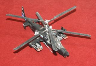 Модель вертолёта Ка-50. Фото: ©С.В. Гуров (г.Тула).