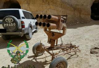 Трофеи сирийской армии в Восточном Каламуне. https://imp-navigator.livejournal.com/723104.html