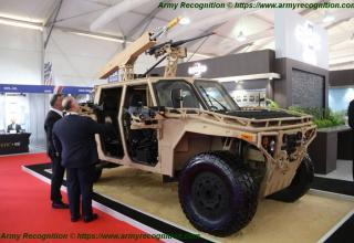 США. Демонстрационный образец с системой FLETCHER на базе автомобиля-вездехода. http://www.armyrecognition.com