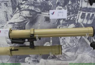 Россия. Макет огнемёта
