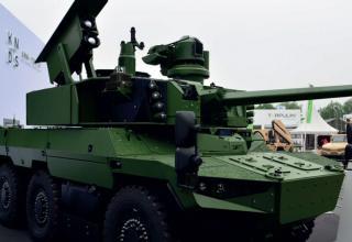 Разведовательная машина с ПТУР MMP. Франция. janes.com/article/80785/new-habitat-for-jaguar-es18d1