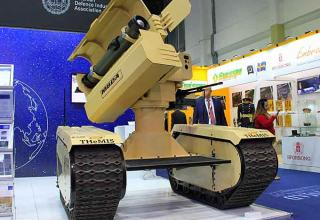 ПТРК (Франция и Эстония). americansecuritytoday.com/worlds-first-anti-tank-ugv-debuts-at-idex-2019-learn-more-multi-video/
