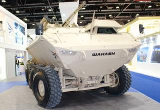 ББМ «Wahash» от Calidus LLC (ОАЭ) с украинским боевым модулем «Штурм». https://andrei-bt.livejournal.com/1125412.html