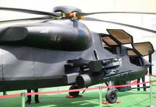 Прототип турецкого боевого вертолета тяжёлого класса Atak-2. https://naukatehnika.com/novinki-vyistavki-idef-2019.html