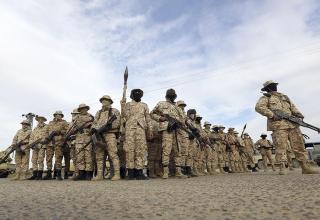Члены сил защиты Триполи. 18.01.2019 г. Mahmud Turkia. www.cfr.org/interactive/global-conflict-tracker/conflict/civil-war-libya