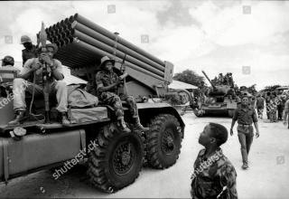 Ангола. 1976 год. https://www.shutterstock.com