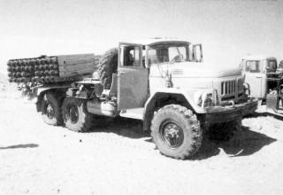 БМ 9П138 иракской армии, захваченная в ходе операции