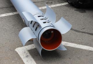 """Макет управляемого реактивного снаряда 9М544 РСЗО """"Торнадо-С"""""""