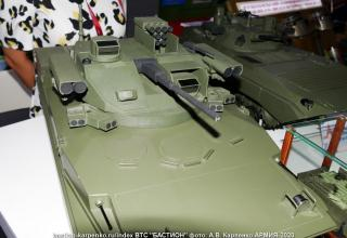 "Модель БМП-3 с модулем ""Эпоха"". http://bastion-karpenko.ru/army-2020/"